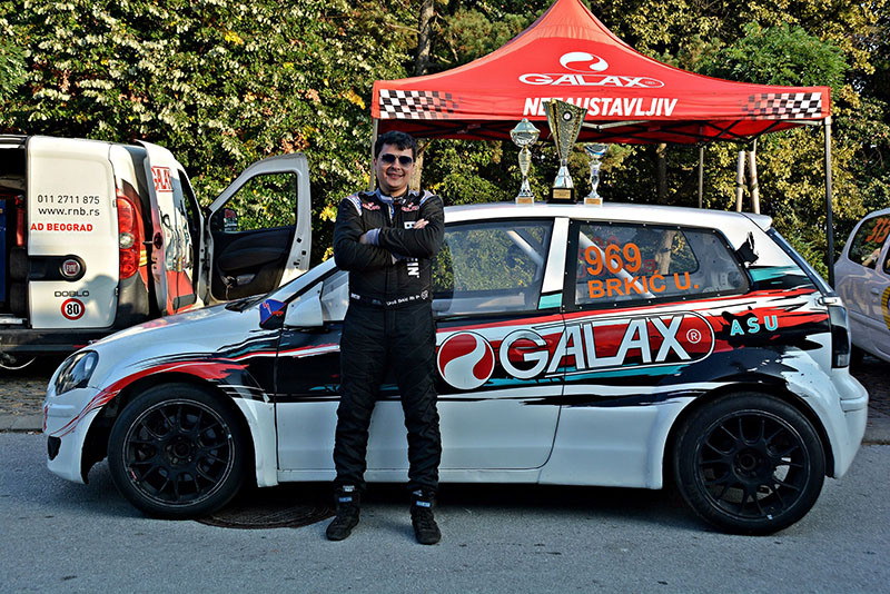 Uroš Brkić - Auto trke